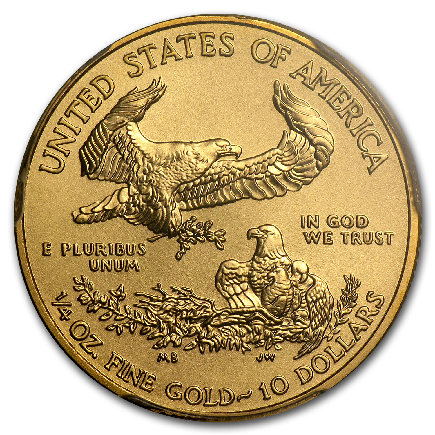 2013 1/4 oz Gold American Eagle MS-70 PCGS (FS)